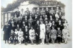 Auvers sous Montfaucon - Mariage - LEVEAU Gustave et DORE Berthe - 13 août 1928 - Vue 02 (Sylvie Leveau)