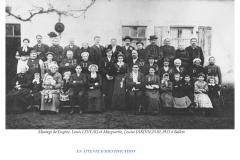Ballon - Mariage - LEVEAU Eugène, Louis et JARDIN Marguerite, Louise - 23 janvier 1911 - Vue 02 (Evelyne Wilden)