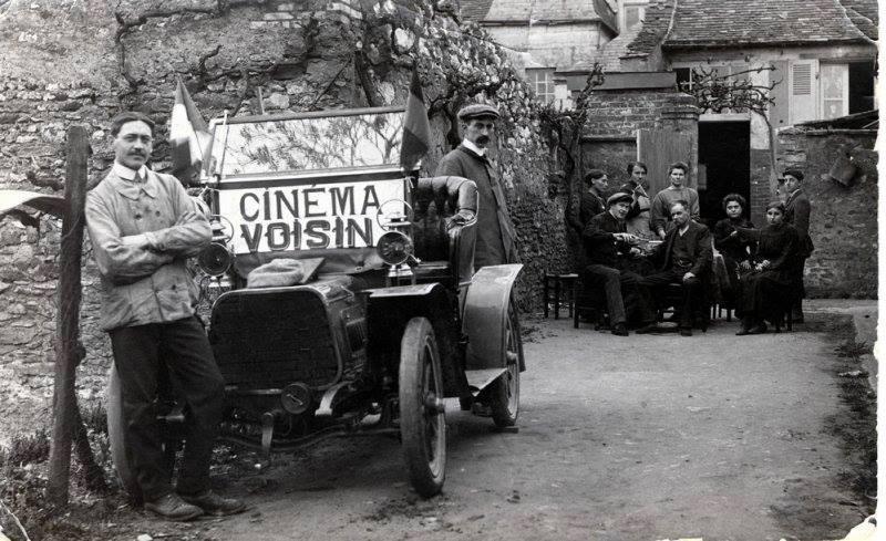 Au quotidien - Métiers - Cinéma ambulant