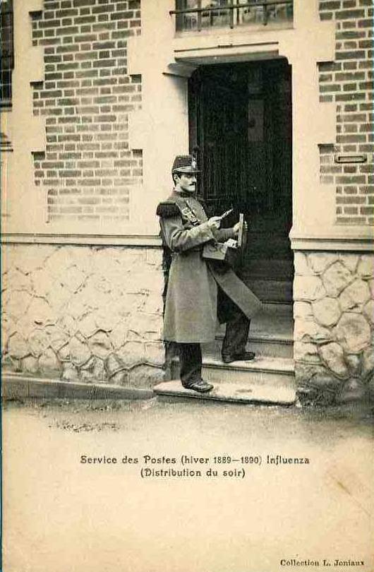 Le Mans - Au quotidien - Métiers - Service des Postes (hiver 1889-1890)