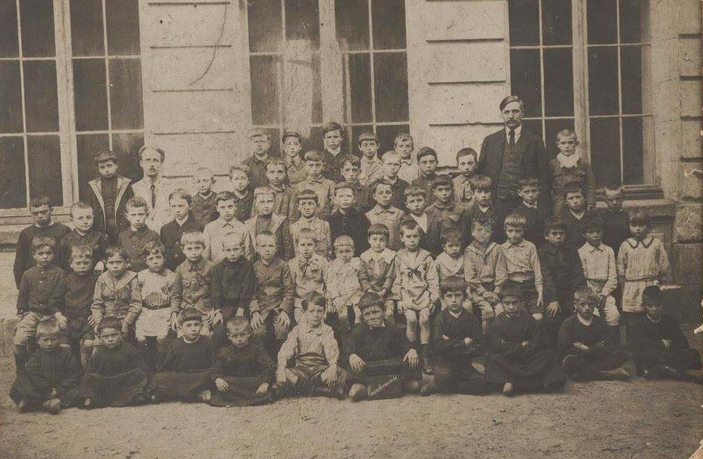 Courdemanche - Groupes - Photos de classe - 1922 (Virginie Laure)