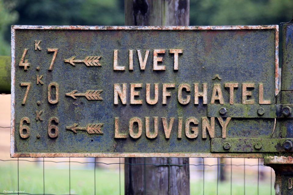 Ancinnes, le Gué de l'Aune - Plaque de cocher - Livet - Neufchâtel - Louvigny (Philippe Gondard)