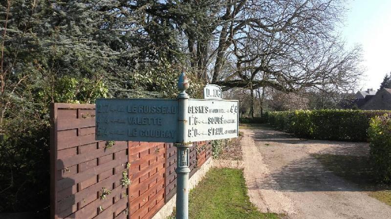 Assé le Boisne, rue de Bois Frou - Plaque de cocher - Le Ruisseau - Valette - Le Coudray - Gesnes le Gandelin - Sougé le Ganelon - Saint Paul le Gaultier (Marie-Yvonne Mersanne)