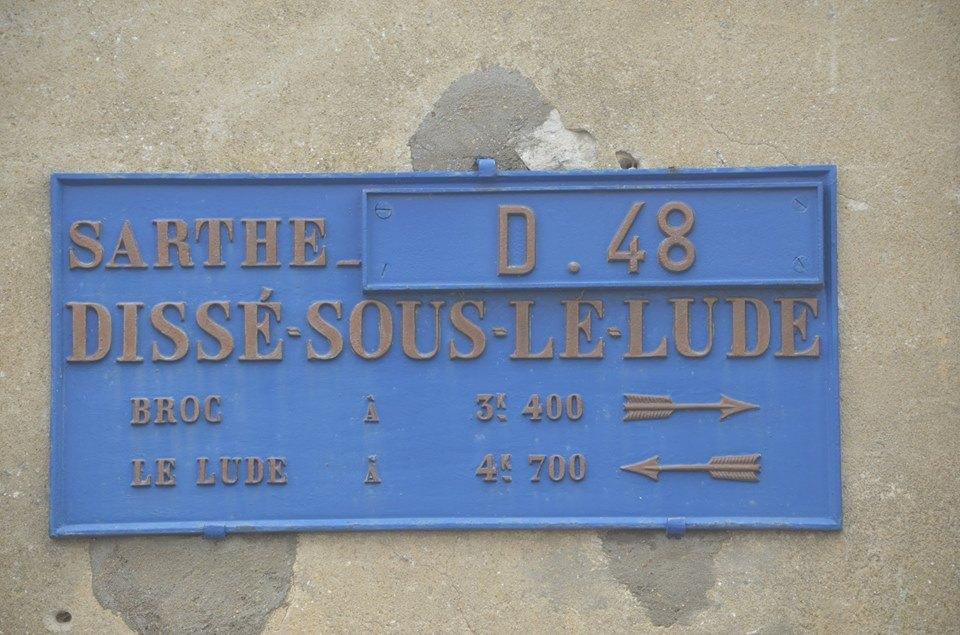 Dissé sous le Lude - Plaque de cocher - Broc - Le Lude (San Doni)