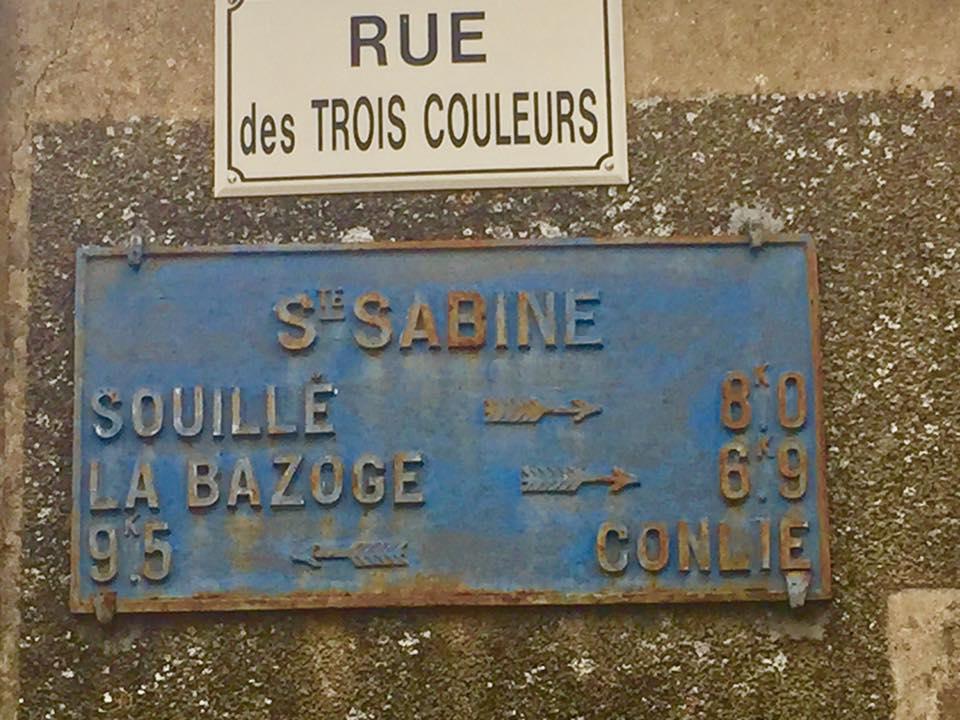 Sainte Sabine sur Longève - Plaque de cocher - Souillé - La Bazoge - Conlie (David Esnault-Quint)