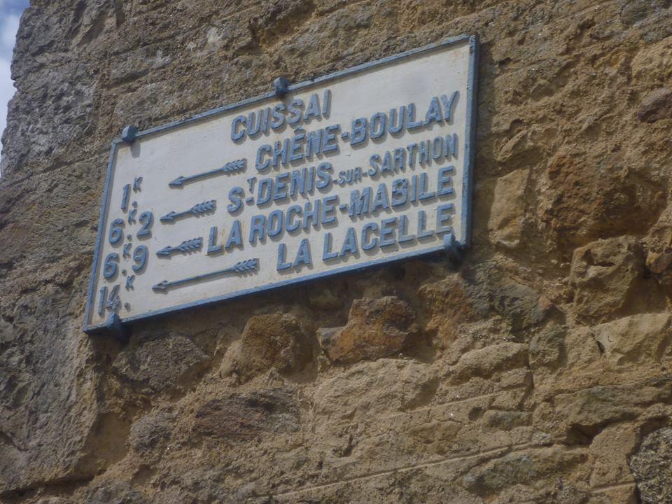Zone 61 - Cuissai - Plaque de cocher - Chêne Boulay - saint Denis sur Sarthon - La Roche Mabile - La Lacelle (Gwéna Tireau)