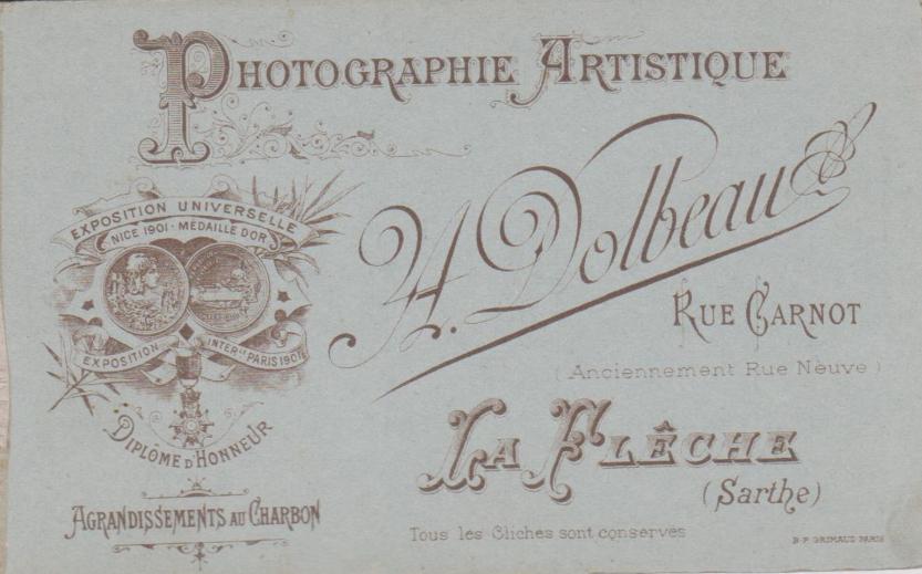 La Flèche, rue Carnot - Affiches, enseignes, logos et pubs - Photographie Artistique A. DOLBEAU