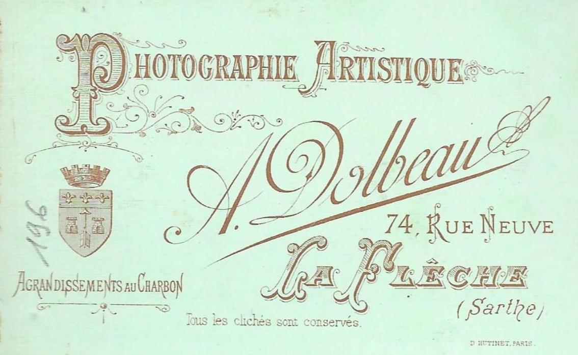 La Flèche, rue Neuve - Affiches, enseignes, logos et pubs - Photographie Artistique A. DOLBEAU