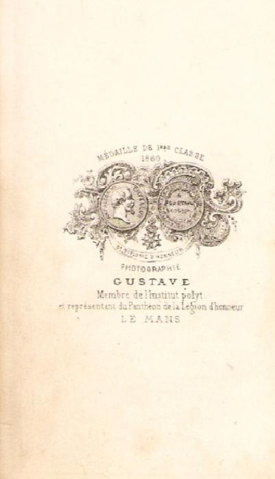 Le Mans - Affiches, enseignes, logos et pubs - Photographie GUSTAVE - Vers 1870