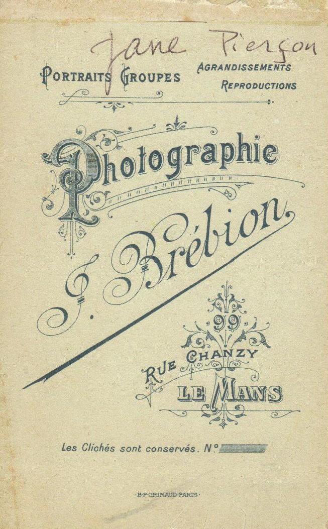 Le Mans - Affiches, enseignes, logos et pubs - Photographie J. BREBION - 1921