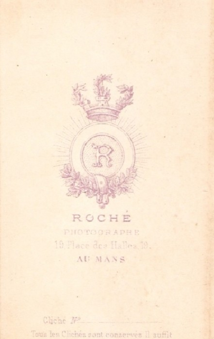 Le Mans - Affiches, enseignes, logos et pubs - Photographie ROCHE - Vers 1870