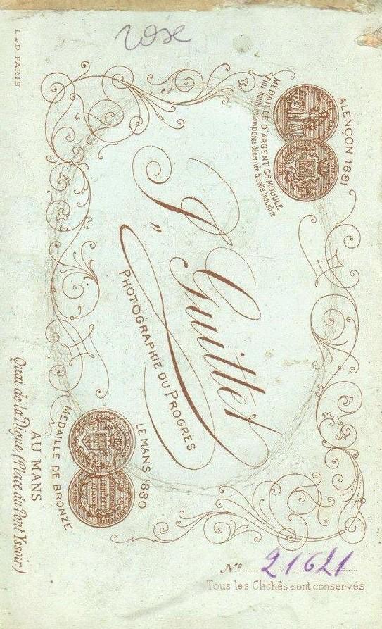 Le Mans - Affiches, enseignes, logos et pubs - Photographie du Progrès J. GUITTET - Vers 1875