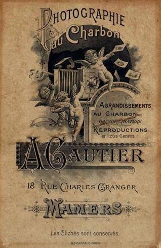 Mamers - Affiches, enseignes, logos et pubs - Photographie au Charbon A. GAUTIER