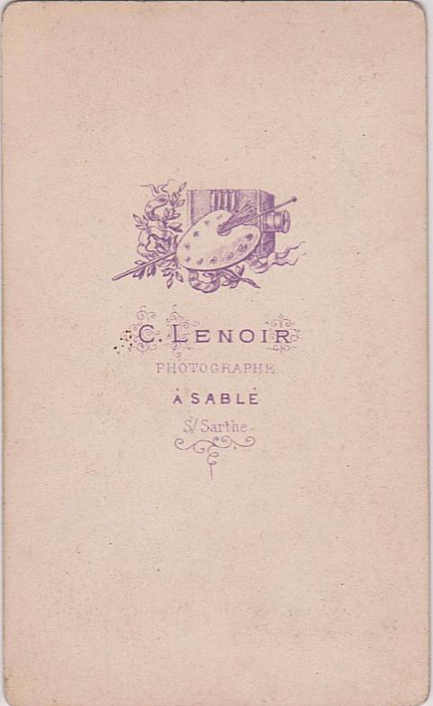 Sablé sur Sarthe - Affiches, enseignes, logos et pubs - Photographe C. LENOIR - Vers 1880