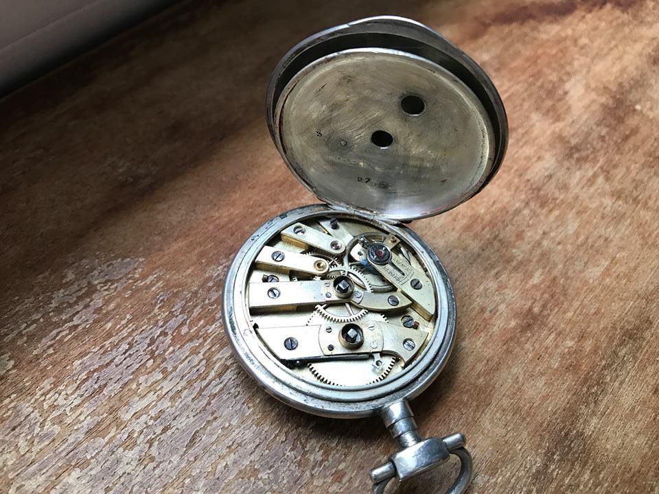 Au quotidien - Artisanat et objets - Montre à gousset de mon arrière grand père DORE Gustave, Emile 04 (Sylvie Leveau)