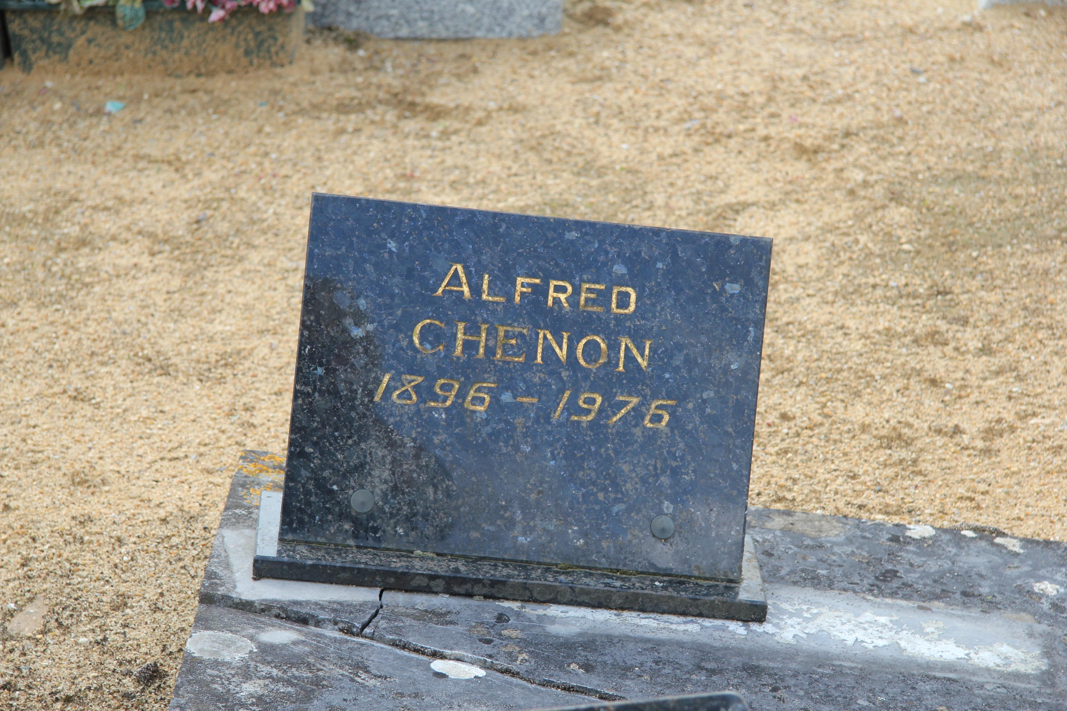 Auvers sous Montfaucon - Cimetière - CHENON Alfred 02 (Sylvie Leveau)