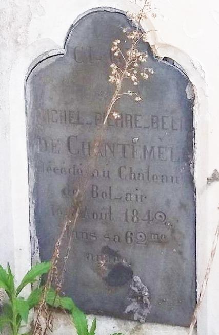 Cérans Foulletourte - Cimetière - Famille BELIN de CHANTEMEL 05 (Christopher Pousse)