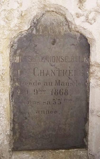 Cérans Foulletourte - Cimetière - Famille BELIN de CHANTEMEL 06 (Christopher Pousse)