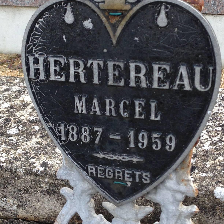 Courdemanche - Cimetière - HERTEREAU Marcel (Virginie Laure)