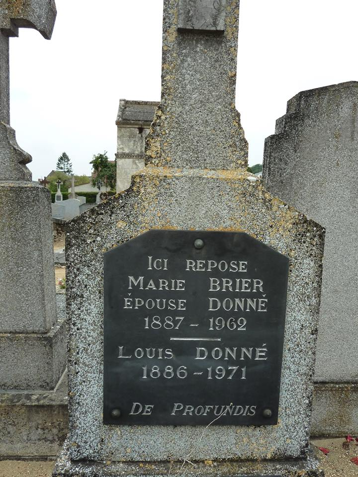 Mareil sur Loir - Cimetière - DONNE Louis et BRIER Marie 04 (Loïc Prémartin)