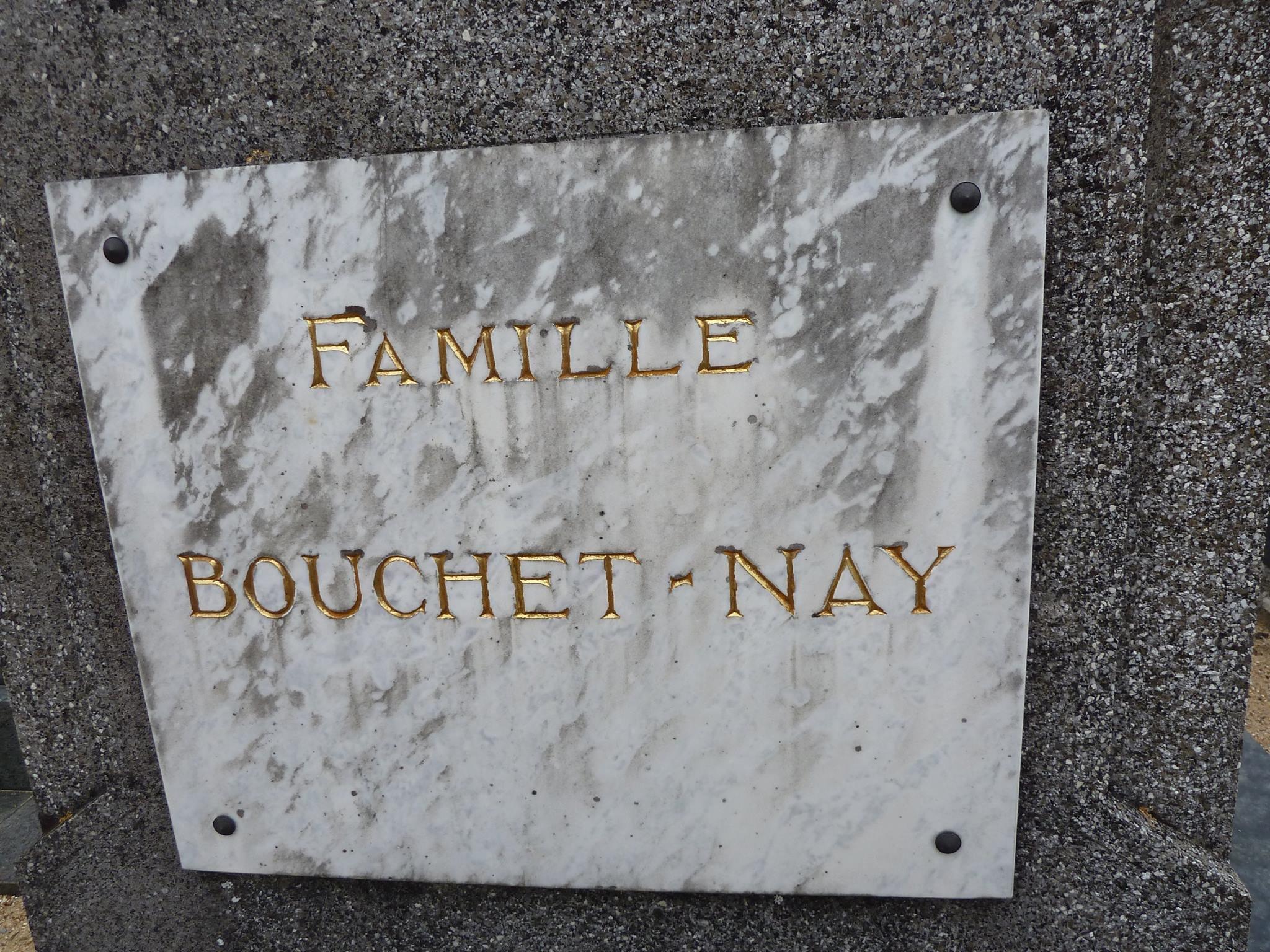 Mareil sur Loir - Cimetière - Famille BOUCHET-NAY 02 (Loïc Prémartin)