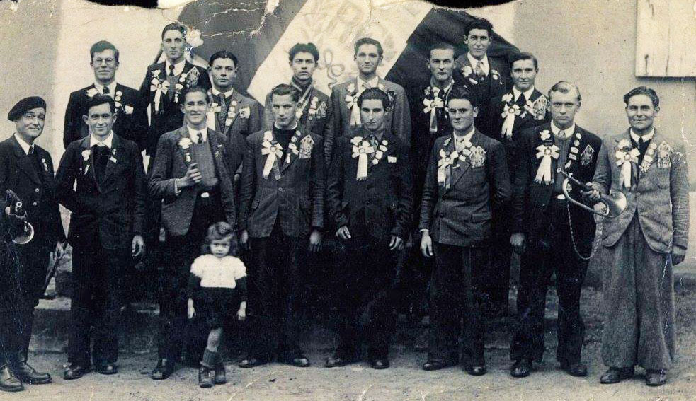 Militaires - Conscrits - JOUANNEAU René, Albert - Mon père - Classe 1928 (Nicole Jouanneau)
