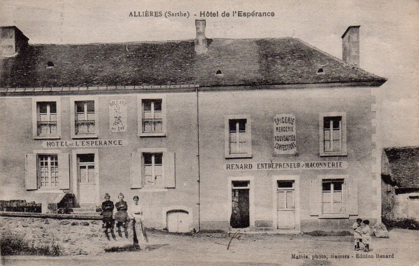 Allières - Hôtel de l'Espérance