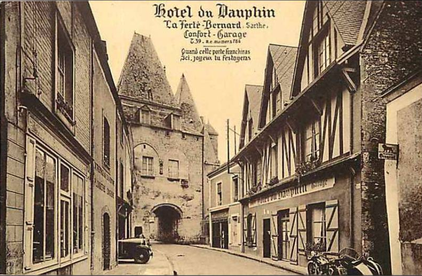 La Ferté Bernard - Hôtel du Dauphin
