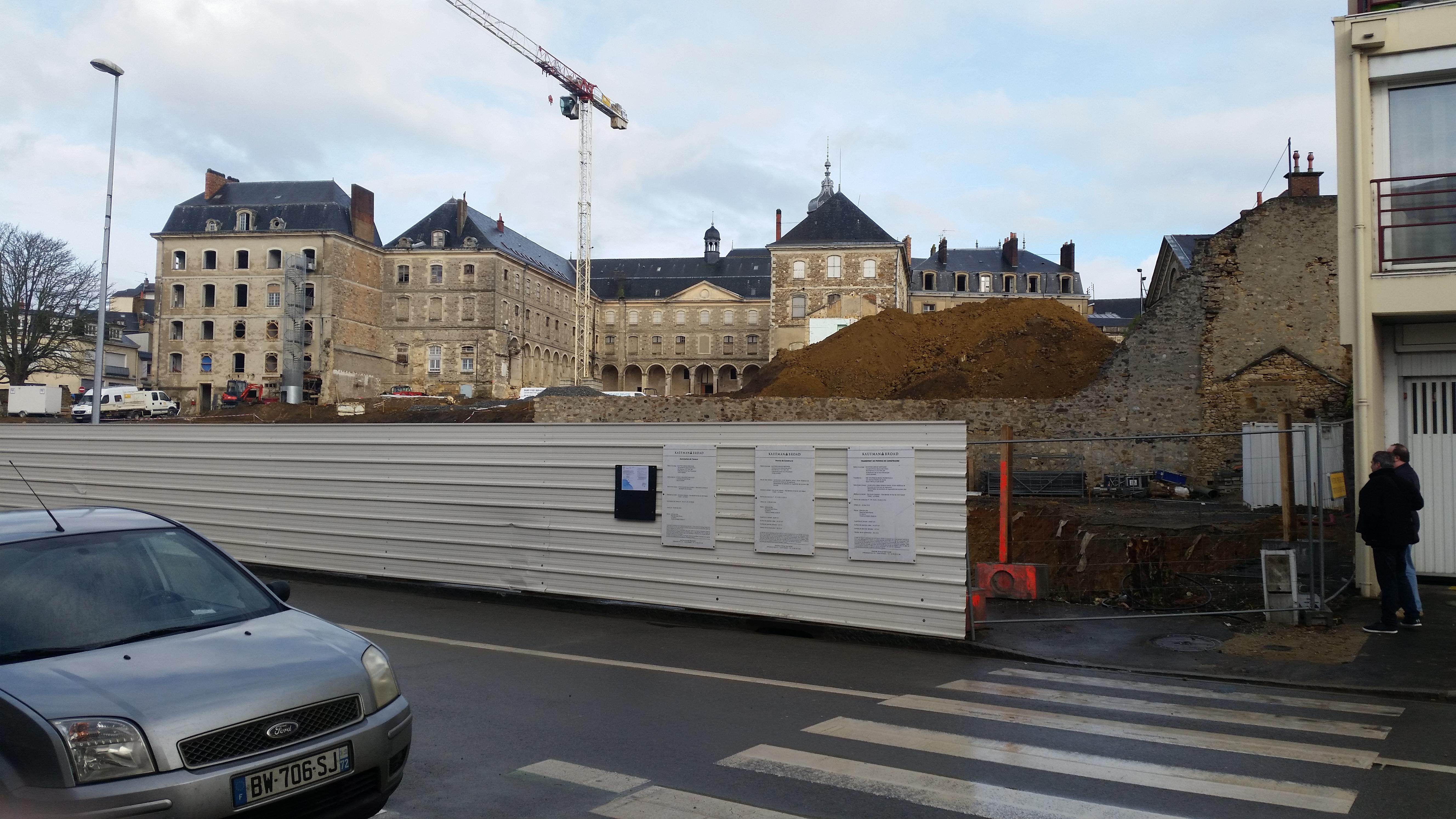 Le Mans - Hôtel Leprince - 23 février 2017 - Vue 01 - (Christophe Menu)