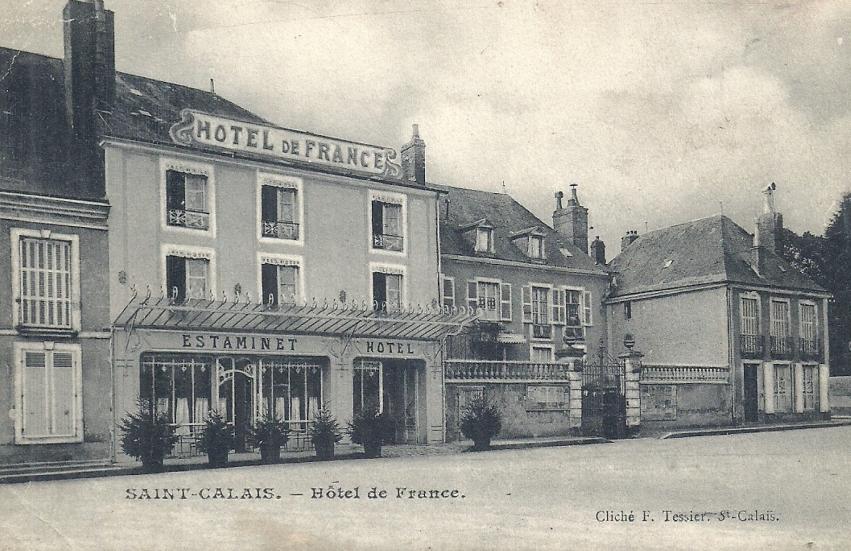 Saint Calais - Hôtel de France