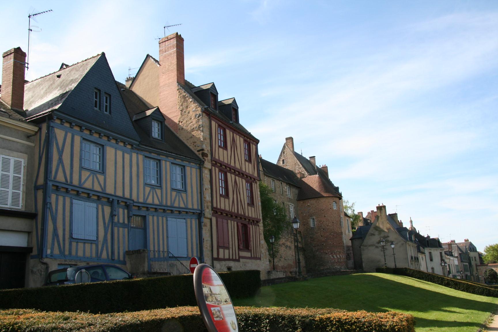 Le Vieux Mans en 2010 - L'enceinte romaine - Muraille 07 - Rue Saint Hilaire (Sylvie Leveau)