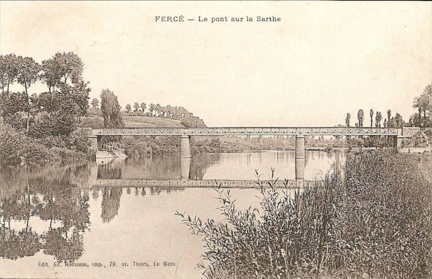 Fercé sur Sarthe - Le pont sur la Sarthe (Philippe Gondard)