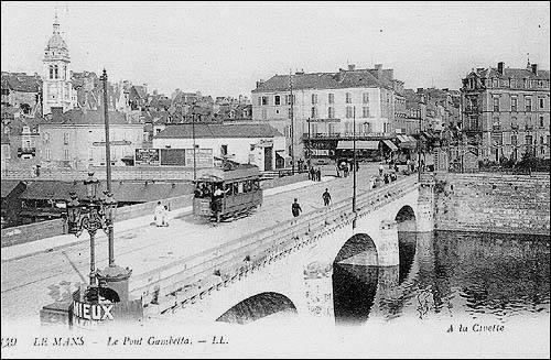 Le Mans - Le Pont Gambetta