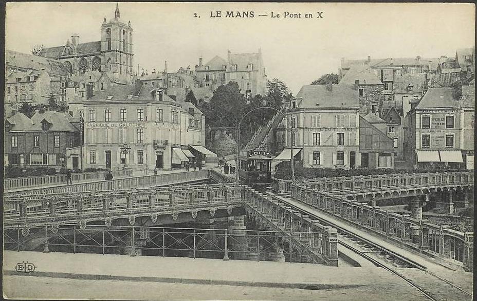Le Mans - Le Pont en X 02