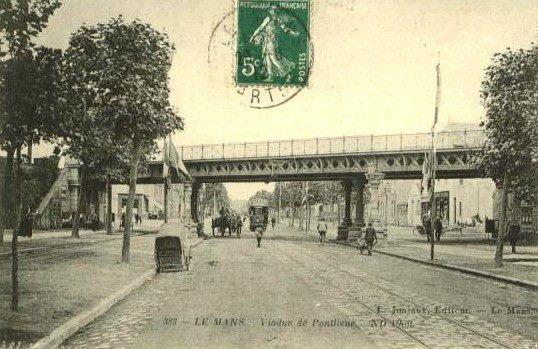 Le Mans - Viaduc de Pontlieue
