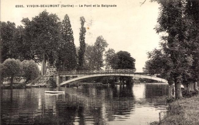 Vivion Beaumont - Le Pont et la Baignade