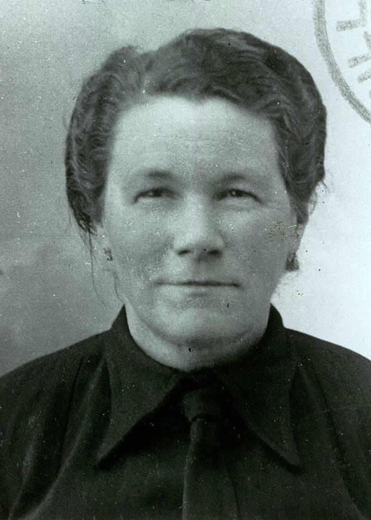 Bonnétable - Portraits - HEUZE Julie, Josephine épouse DREUX Gustave, André - Mon arrière grand mère - Vers 1940 (Sylvie Leveau)