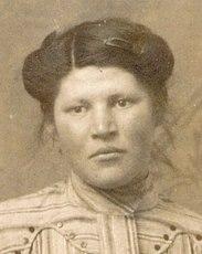 Portraits - BLAVETTE Hélène, Lucienne, Albertine - Née le 30 juin 1895 à Le Gué de la Chaîne dans l'Orne (61) - Décédée le 20 août 1935 à La Ferté Bernard (Sylvie Leveau)