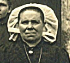 Portraits - FONTAINE Alexandrine épouse BOULAY Eugène, Henri - Née le 5 Janvier 1877 à Prévelles - Décédée le 26 novembre 1953 à Saint Célerin - Mon arrière grand mère (Sylvie Leveau)