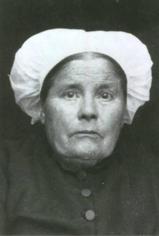 Portraits - GOYER Julie, Anne épouse HEUZE Louis, Mathurin - Mon arrière arrière grand mère (Sylvie Leveau)
