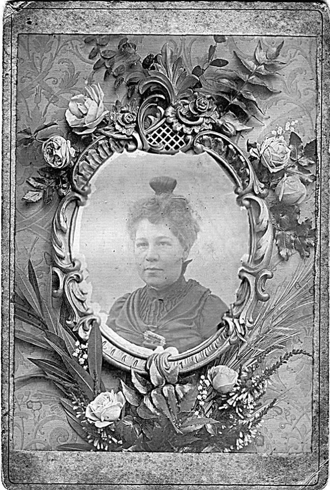 Portraits - Inconnue - Branche LEVEAU-LANDAIS - Entre 1870 et 1880 (Sylvie Leveau)