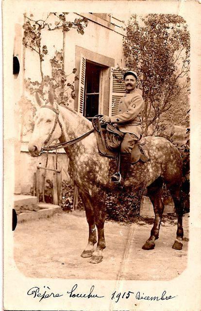 Portraits - SOUCHU Constant - Né le 7 mars 1875 à La Flèche - Décédé en 1951 - Mon arrière grand père, maréchal ferrant à Cérans Foulletourte (Dominique Poisson-Garreau)