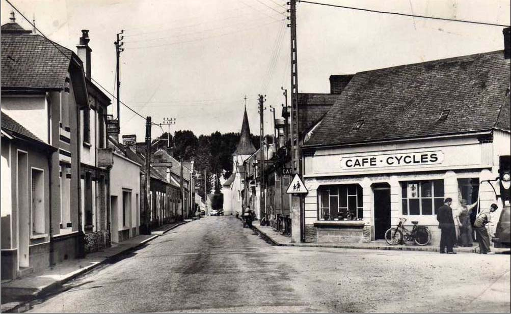 Allonnes - Commerce - Café Cycles