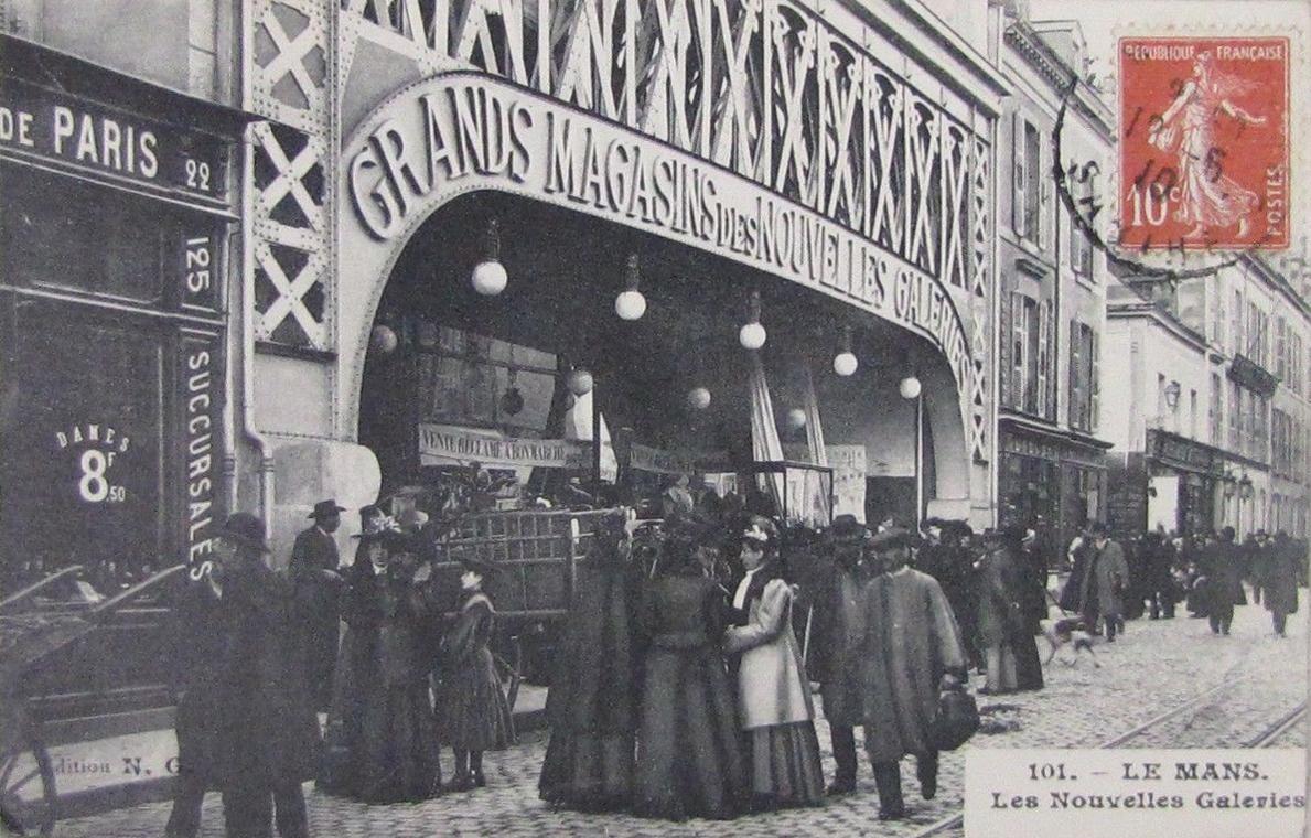 Le Mans - Commerce - Les Nouvelles Galeries