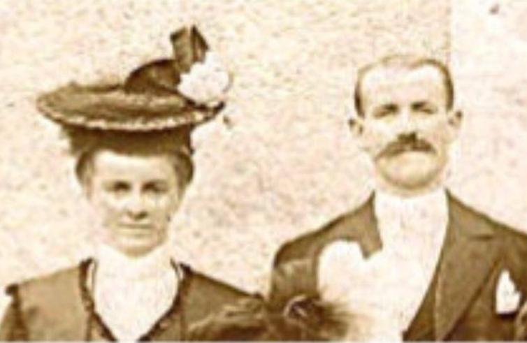 Brains sur Gée - Couples et familles - DORE Ernest, Edouard et LEQUESME Joséphine - 28 juillet 1908 (Sylvie Leveau)