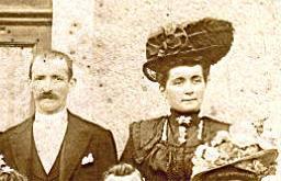 Brains sur Gée - Couples et familles - DORE Gustave et FISSON Marie-Louise - 1908 (Sylvie Leveau)