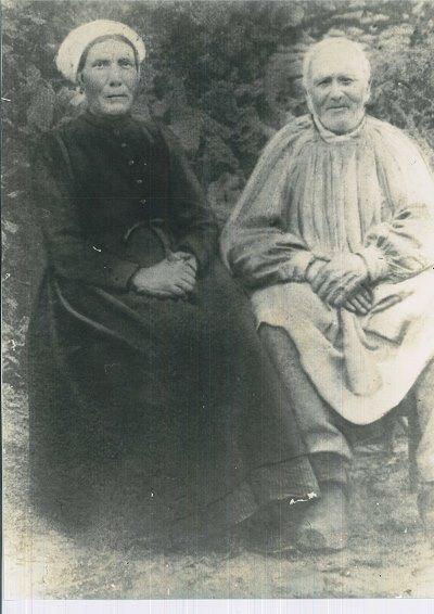 Couples et familles - DROUET Joseph, Louis, Isidore né le 30 août 1835 à Saint Jean d'Assé et BUON Eugénie, Nathalie née le 14 janvier 1835 à Sainte Sabine - Mes arrière arrière grands parents (Michèle Ligot Robinet)