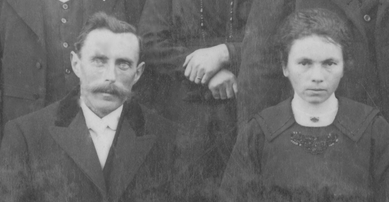 Couples et familles - LANDAIS Victor et NERDEUX Yvonne - 1921 (Sylvie Leveau)