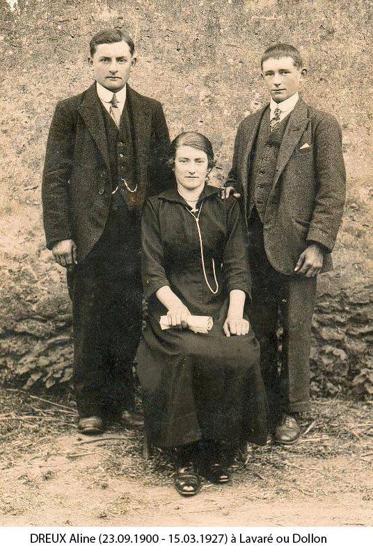 Dollon ou Lavaré - Couples et familles - DREUX Aline (Christophe Menu dit Tahiti)