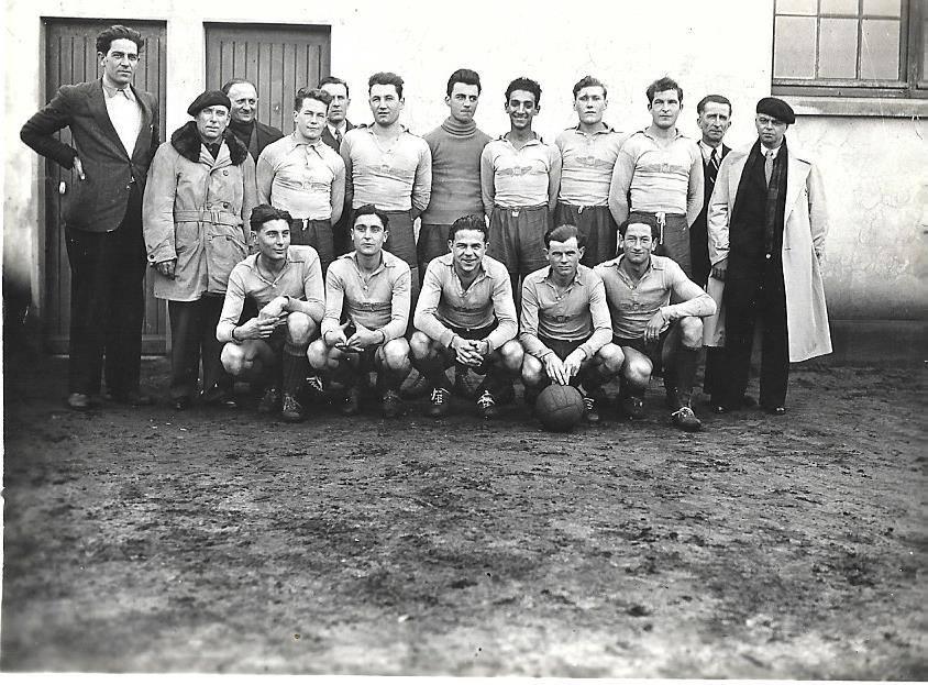 Le Mans - Groupes - Loisirs et sports - Equipe de football - 1939 (Josy Bmargherite)